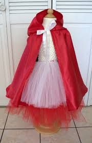 distractions tulle little red riding hood costume mini tutorial