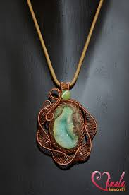 wire jewelry necklace images Green lake wire wrapped jewellery necklace by vsvita jpg