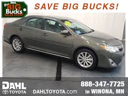 toyota camry 2012 maintenance schedule winona used 2012 toyota camry for sale stock 47t03951 dahl