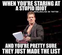 Internet Meme List - the best thing of wwe 2016 chris jericho and the list meme wwe