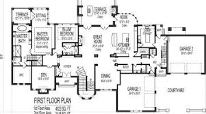country house plans one story marvelous 5 bedroom country house plans bedroom house floor plans