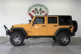 orange jeep wrangler unlimited for sale 2012 jeep wrangler unlimited in houston tx ong motorsports