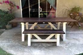 outdoor picnic table diy little kitchen big bites