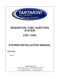 tartarini installation manual fuel injection electrical connector
