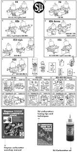 healey su carburettors and repair kits