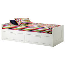 bed ikea brimnes day bed frame with 2 drawers white 80x200 cm ikea