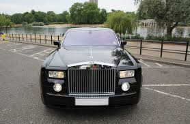 roll royce london black rolls royce phantom hire herts rollers