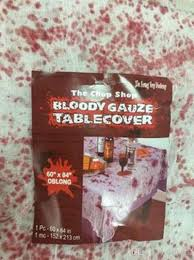2017 halloween blood dot tablecloth decoration supplies haunted