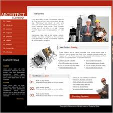 architect company template free website templates in css html js