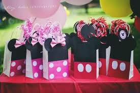 mickey mouse favor bags mickey mouse birthday