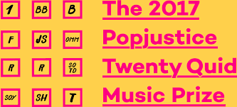 the 2017 popjustice twenty quid music prize u2022 popjustice