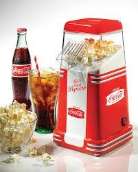 Coca Cola Home Decor Amazon Com Nostalgia Rhp310coke Coca Cola 8 Cup Air Popcorn