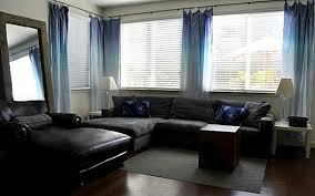 Ombre Window Curtains Create A Color Gradient With Ombre Design