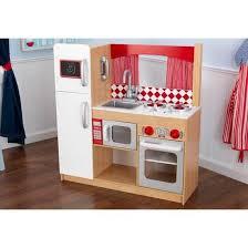 cuisine en bois jouet pas cher cuisine dînette en bois complète frigo four jouet achat vente