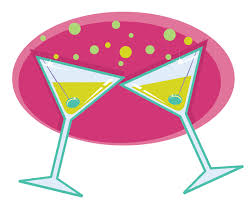 martini clip art cheers glasses clipart 33
