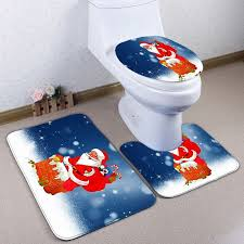 Christmas Bathroom Rugs Christmas Bathroom Rugs Sets Bathrooms Cabinets