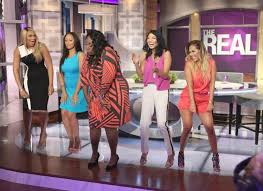 eur at taping of the real hosts chat tamar s post baby