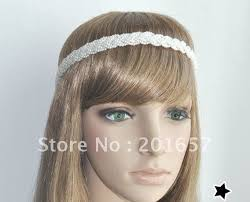 braid hairband wholesale and retail fashion pearl braid headband elastic