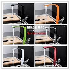colored kitchen faucets ful kitchen faucet mixer deck mounted basin tall taps contemporary