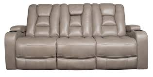 rhinehart power sofa with power headrest morris home reclining