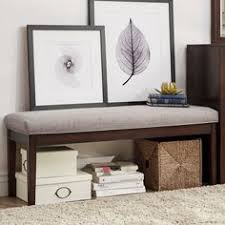 Overstock Bedroom Benches Meridian Furniture Usa Olivia Upholstered Bedroom Bench Upholstery