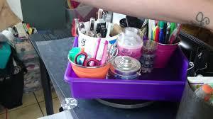 cheap diy lazy susan organizer for office u0026 crafts under 10