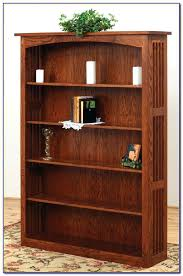 Cherry Wood Bookcase With Doors Mission Style Solid Wood Bookcase Bookcase Mission Style Bookcase