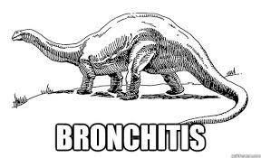 Bronchitis Meme - bronchitisaur memes quickmeme