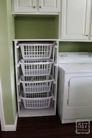 Storage Ideas For Laundry Rooms by 27 Laundry Basket Storage Ideas Small Cabinet For Laundry Basket