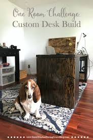 One Room Challenge One Room Challenge Week 4 Custom Desk Build Sweet Tea