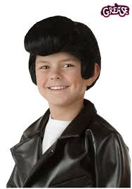 Danny Zuko Halloween Costume Child Grease Danny Wig