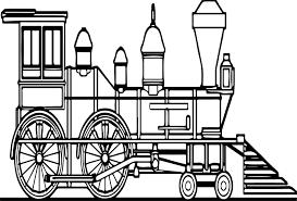 old train coloring page wecoloringpage