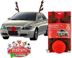 reindeer ears for car rudolph the nose reindeer car costume car costume nosed