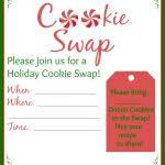 cookie swap planning free printables