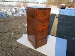 Oak File Cabinet 4 Drawer Sold U2013 San Diego Ca U2014 Antique Legal Sized Signed Gl Tiger Oak File