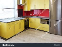 Red Kitchen Range Appliances Modern Red Kitchen Kitchen Appliances Range Kitchen Appliances List