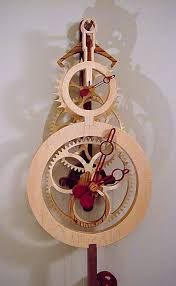 Free Wood Gear Clock Plans by How To Make A Wooden Gear Clock Wooden Clock Plans Wooden Gear
