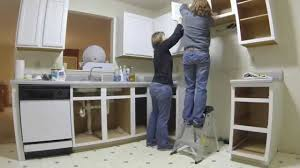 time lapse kitchen cabinets youtube