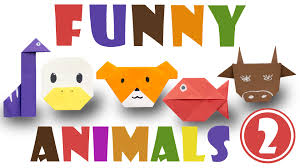 origami for kids top 5 easy origami animals 2 youtube