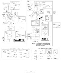 briggs and stratton 31c707 0154 e1 parts diagrams