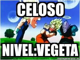Memes De Vegeta - meme personalizado celoso nivel vegeta 1236523