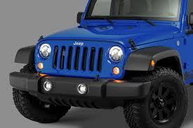 jeep commander black headlights j w speaker model 8700 evolution j2 series 7 led headlight pair