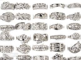 crystal rings wholesale images 2018 silver plated ring cz rings crystal bulk rings fashion ring jpg