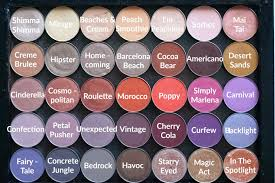 my makeup geek single eyeshadow collection review u0026 swatches