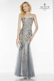 alyce paris 5773 strapless prom dress prom avenue