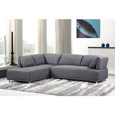 sofas with metal legs modern elvis left side chaise sectional sofa with metal legs free