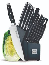 Farberware Kitchen Knives Kitchen Cool Hampton Forge Knife Set Design For Your Kitchen