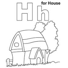 top 25 free printable letter h coloring pages