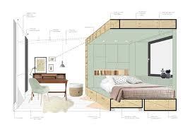 desk in small bedroom interior dg int2architecture