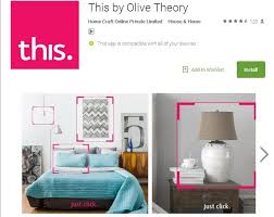 Home Interior Products Online by Olive Theory U0027s This App Makes Visual Discovery Of Home Decor A